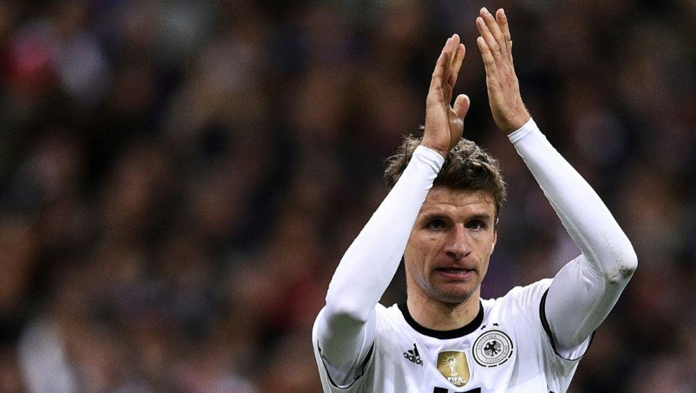 Auch Thomas Müllers Nummer 13 wird neu vergeben - Bildquelle: AFPSIDFRANCK FIFE
