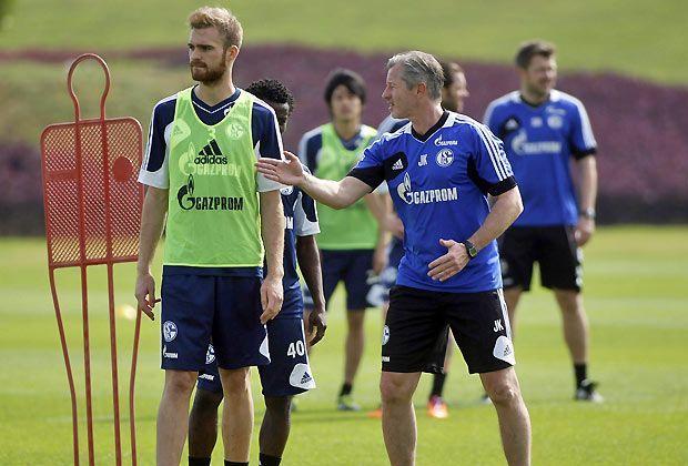 Schalke ist schon vor Ort - Bildquelle: getty