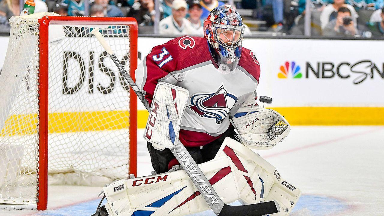 Platz 6: Phillip Grubauer (Colorado Avalanche/Eishockey) - Bildquelle: imago