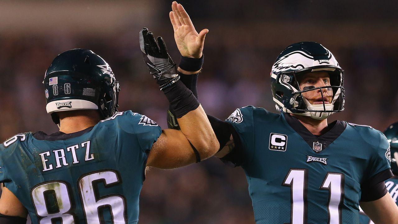 Platz 12: Philadelphia Eagles - Bildquelle: 2018 Getty Images