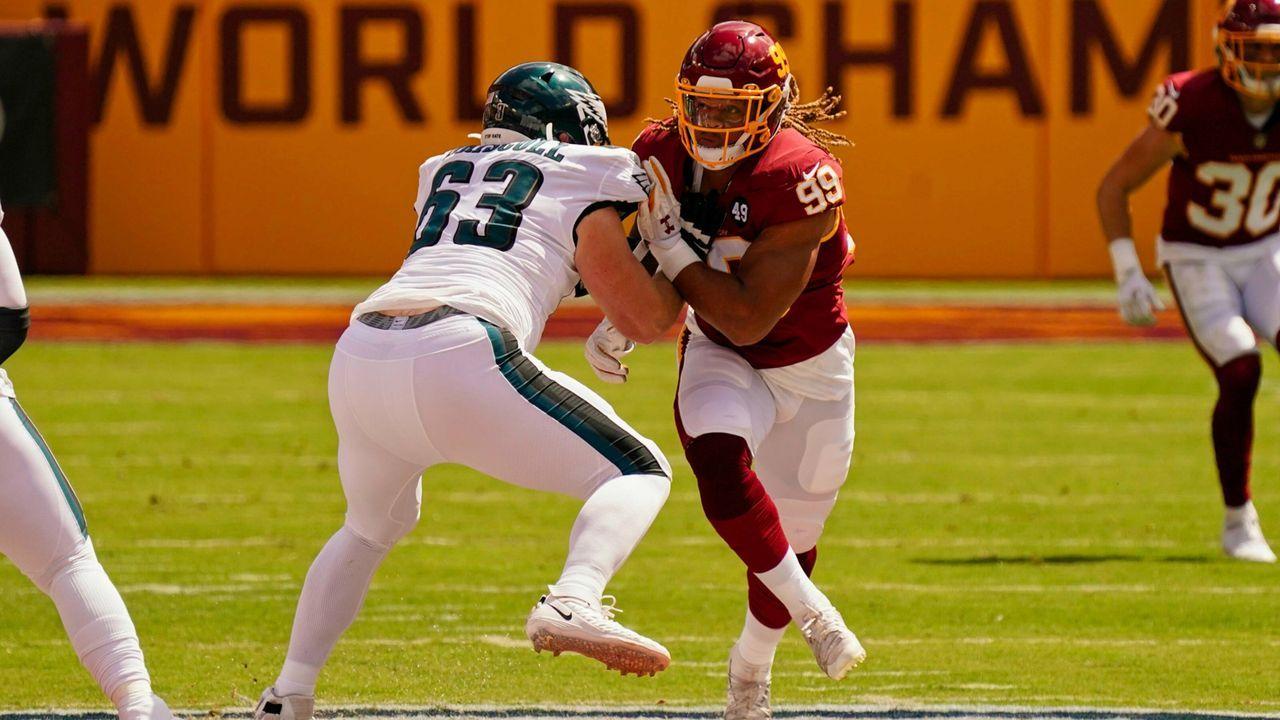 Chase Young (Defensive End, Washington Football Team) - Bildquelle: imago images/Icon SMI