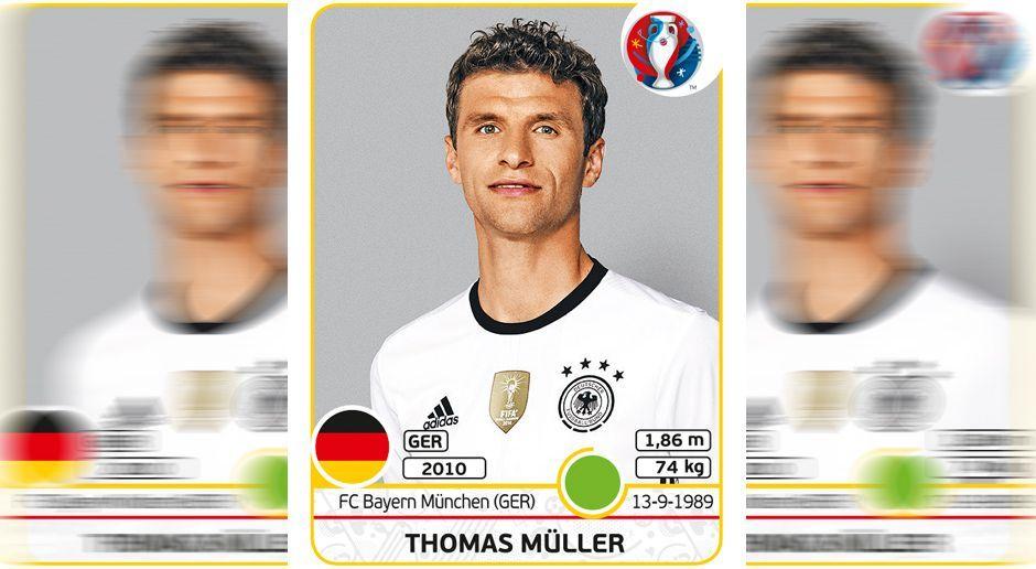 Thomas Müller - Bildquelle: Panini