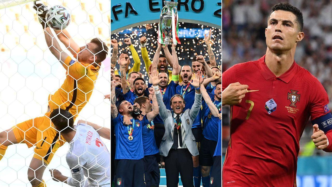 EM 2021: Die Gewinner und Verlierer der Endrunde - Bildquelle: Getty Images/Imago