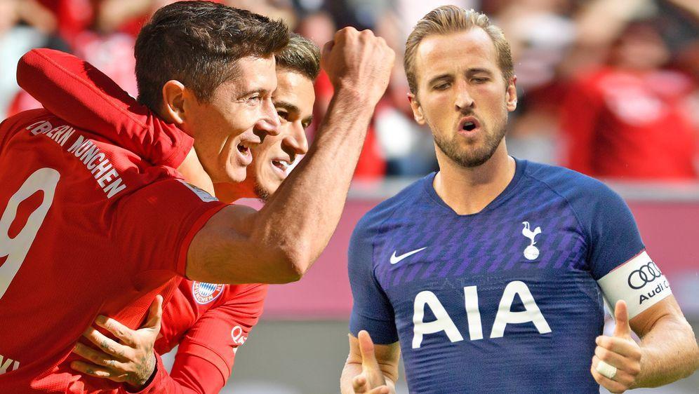 In der Champions League trifft der FC Bayern auf die Tottenham Hotspur. Es i... - Bildquelle: Imago