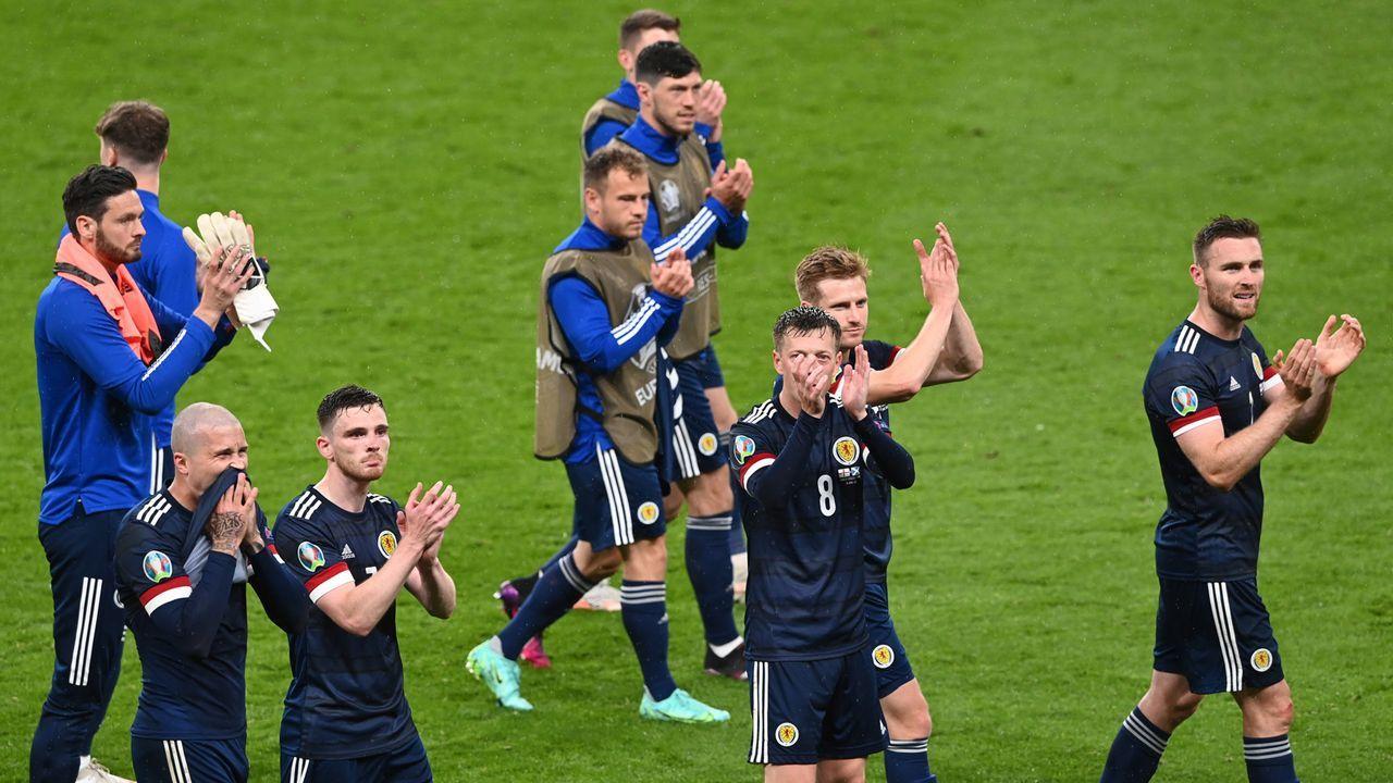 Gruppe D: Schottland (Gruppenvierter, 1 Punkt/1:5 Tore) - Bildquelle: 2021 Facundo Arrizabalaga - Pool