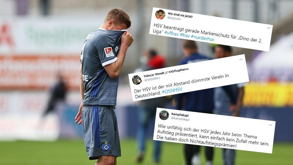 Der HSV ist bedient: Es hat wieder nicht für den Aufstieg gereicht. - Bildquelle: getty