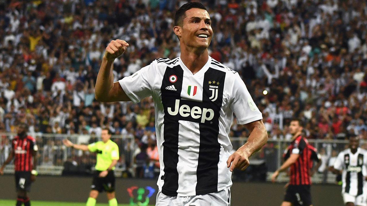 Cristiano Ronaldo (AC Mailand) - Bildquelle: 2019 Getty Images