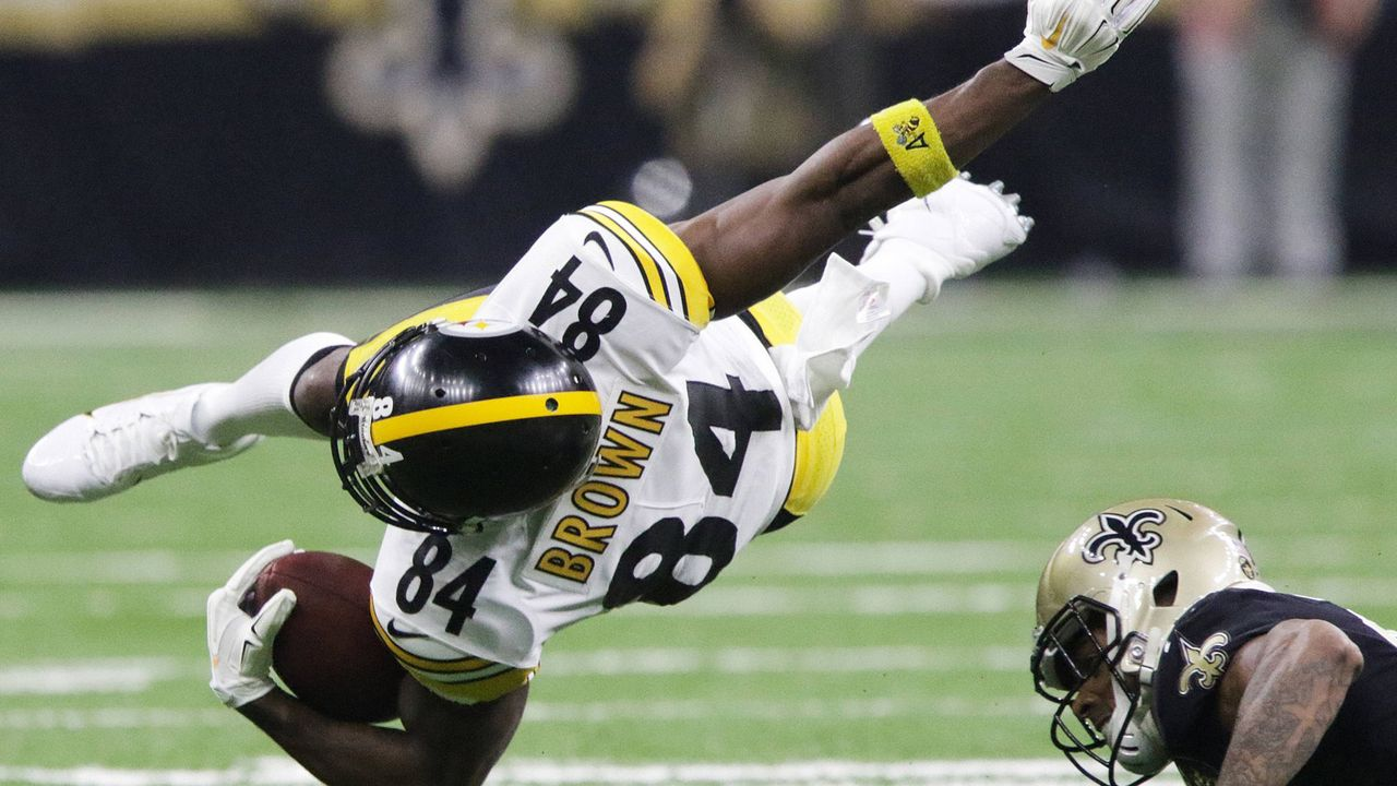 Platz 2: Antonio Brown (Oakland Raiders) - Bildquelle: imago