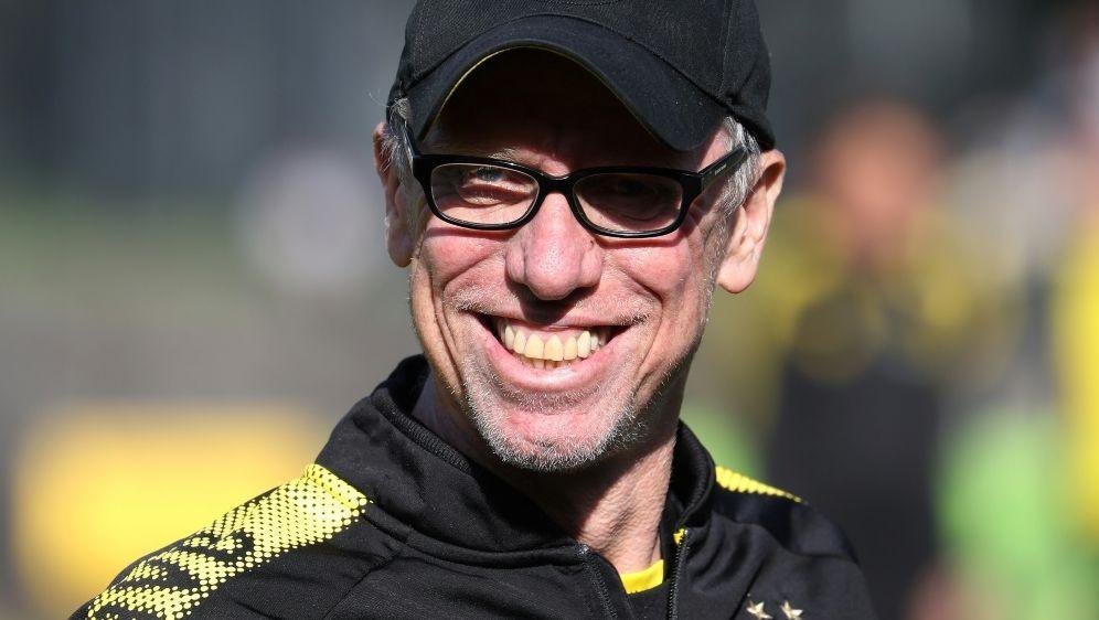 Peter Stöger war ein halbes Jahr lang Trainer beim BVB - Bildquelle: FIROFIROSID