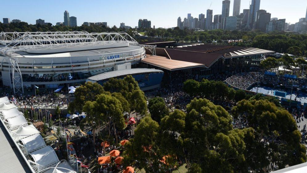 Die Australian Open könnten verlegt werden - Bildquelle: AFPSIDGREG WOOD