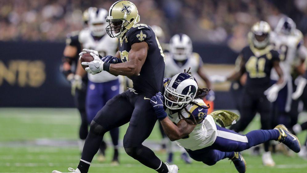 Die New Orleans Saints und die Los Angeles Rams lieferten sich ein packendes... - Bildquelle: imago