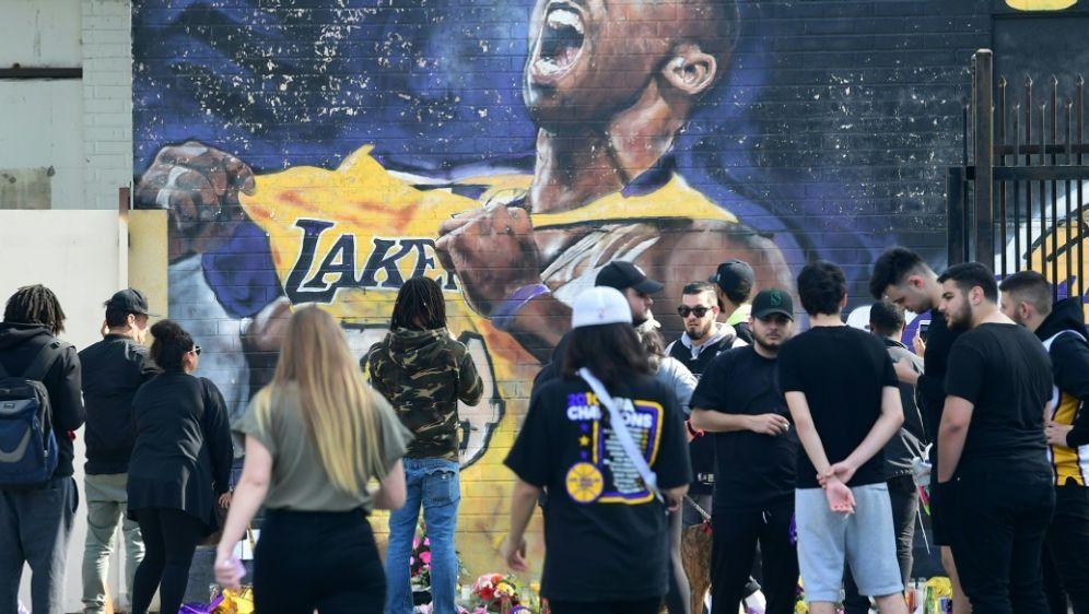 Die Basketballwelt ist geschockt nach Bryants Tod - Bildquelle: AFPSIDFREDERIC J. BROWN
