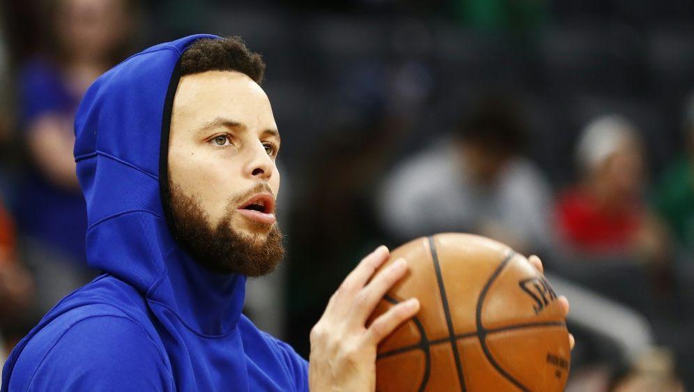 Curry steht kurz vor seinem Comeback - Bildquelle: AFPGETTY SIDOMAR RAWLINGS