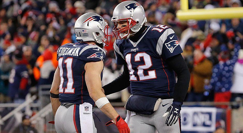 Platz 4: New England Patriots - Bildquelle: 2017 Getty Images