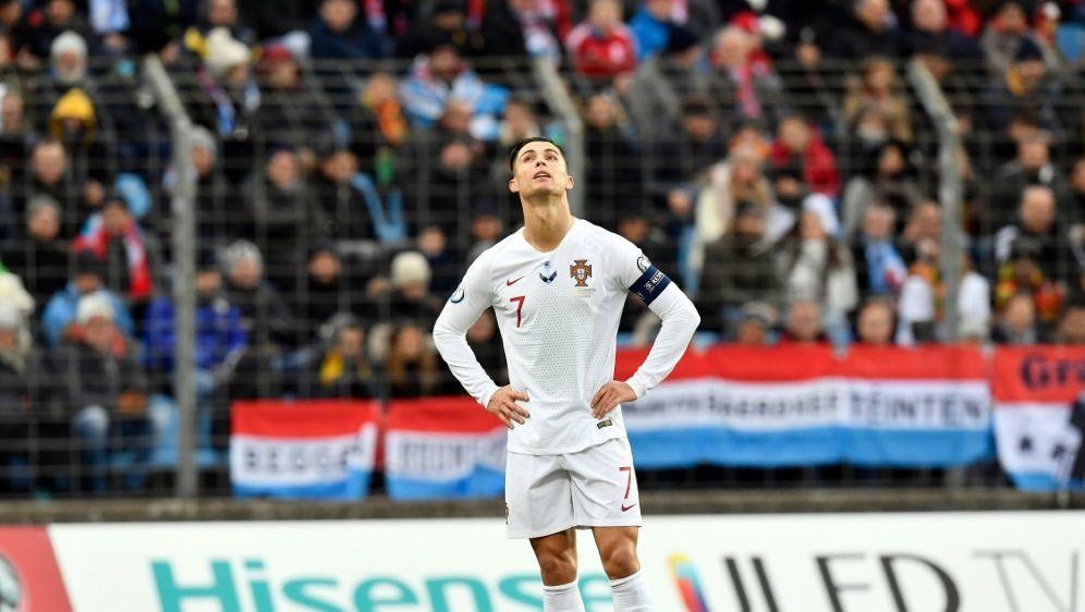 """Cristiano Ronaldo: """"War nicht bei 100 Prozent"""" - Bildquelle: AFPSIDJOHN THYS"""