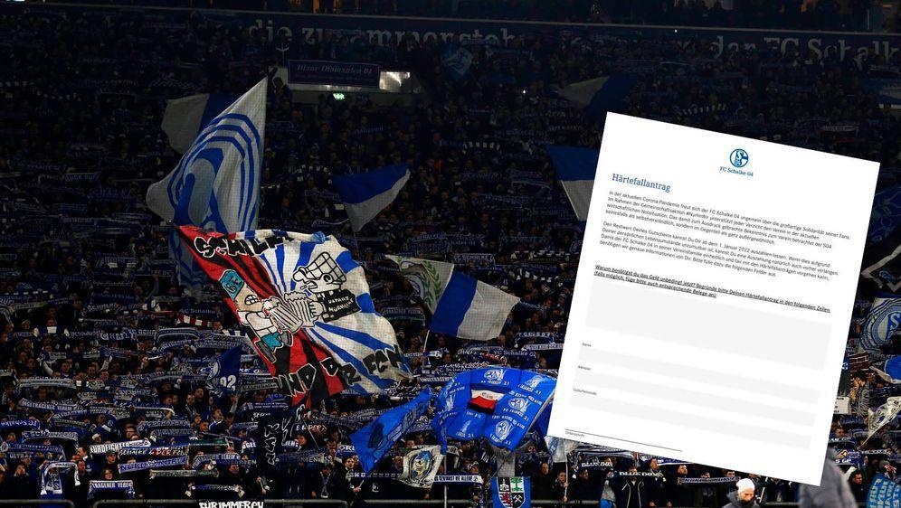 """Dieser """"Härtefallantrag"""" des FC Schalke 04 sorgte für Wirbel. - Bildquelle: imago images/AFLOSPORT"""