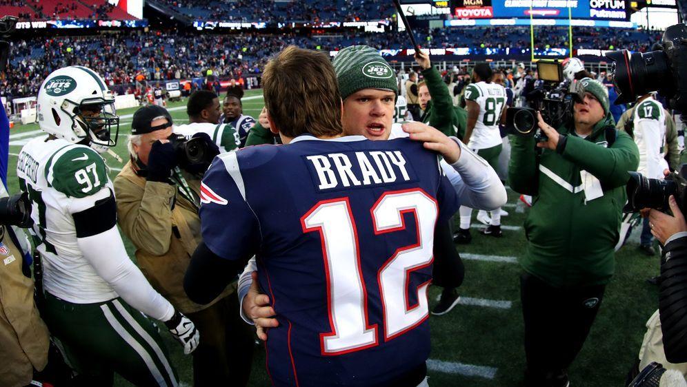 Sam Darnold: Kein Ständchen für Tom Brady. - Bildquelle: 2018 Getty Images