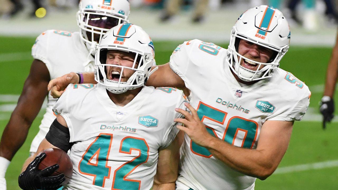 Platz 9: Miami Dolphins - Bildquelle: 2020 Getty Images