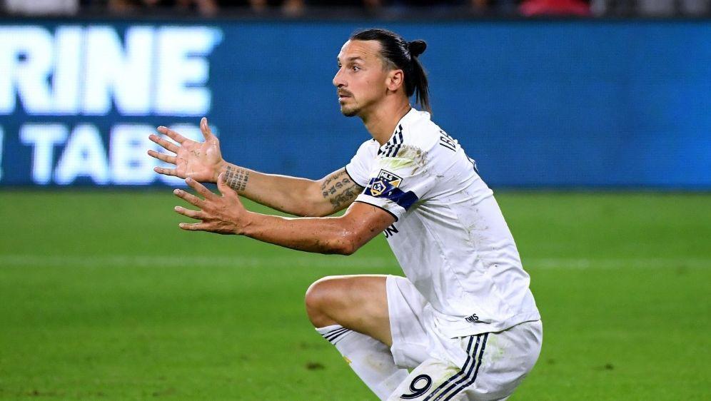 Halbfinal-Aus für Zlatan Ibrahimovic und LA Galaxy - Bildquelle: GETTY IMAGES NORTH AMERICAGETTY IMAGES NORTH AMERICASIDHarry How