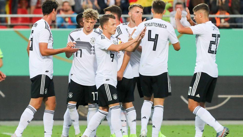 Einige deutsche Spieler konnten beim Sieg überzeugen. - Bildquelle: imago