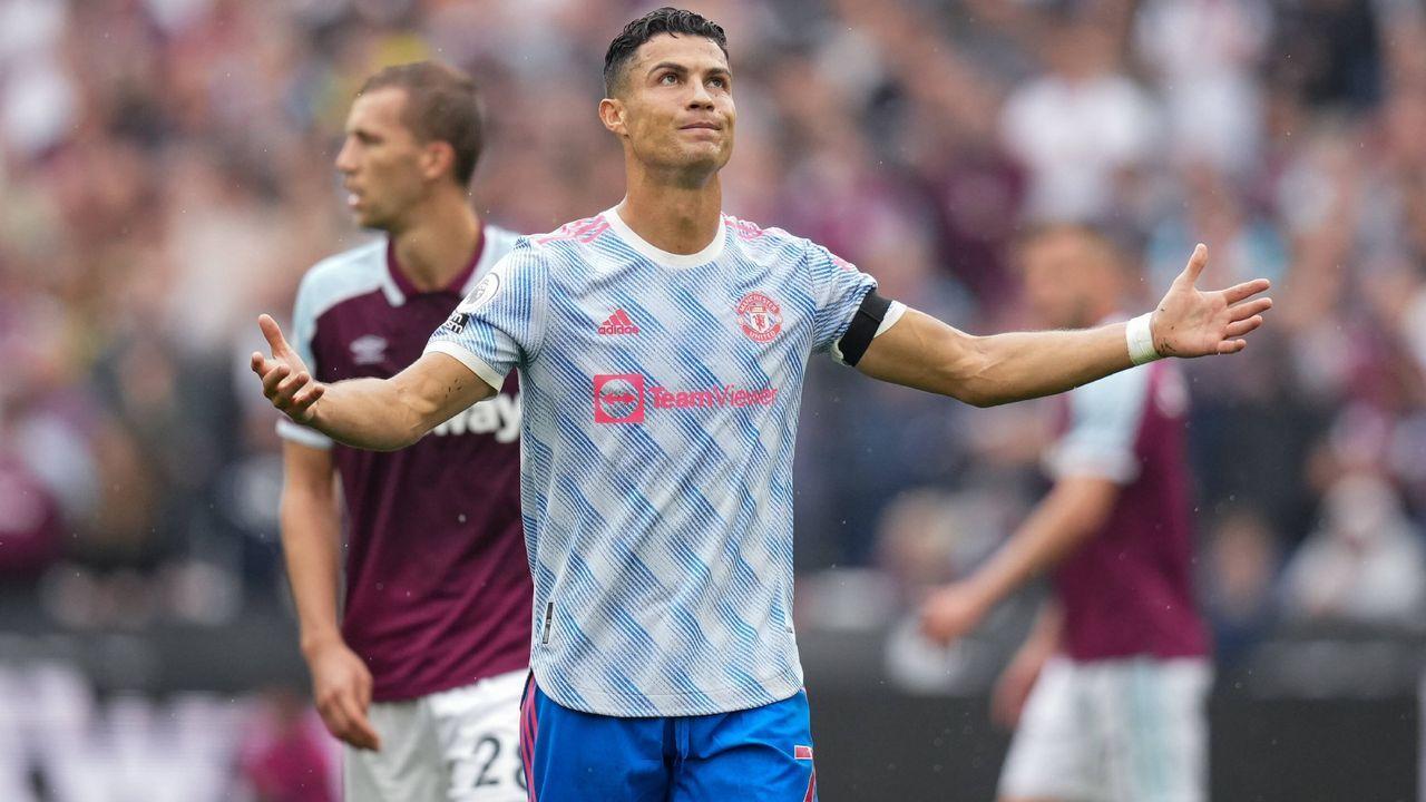 Platz 1: Cristiano Ronaldo (Manchester United) - Bildquelle: Imago