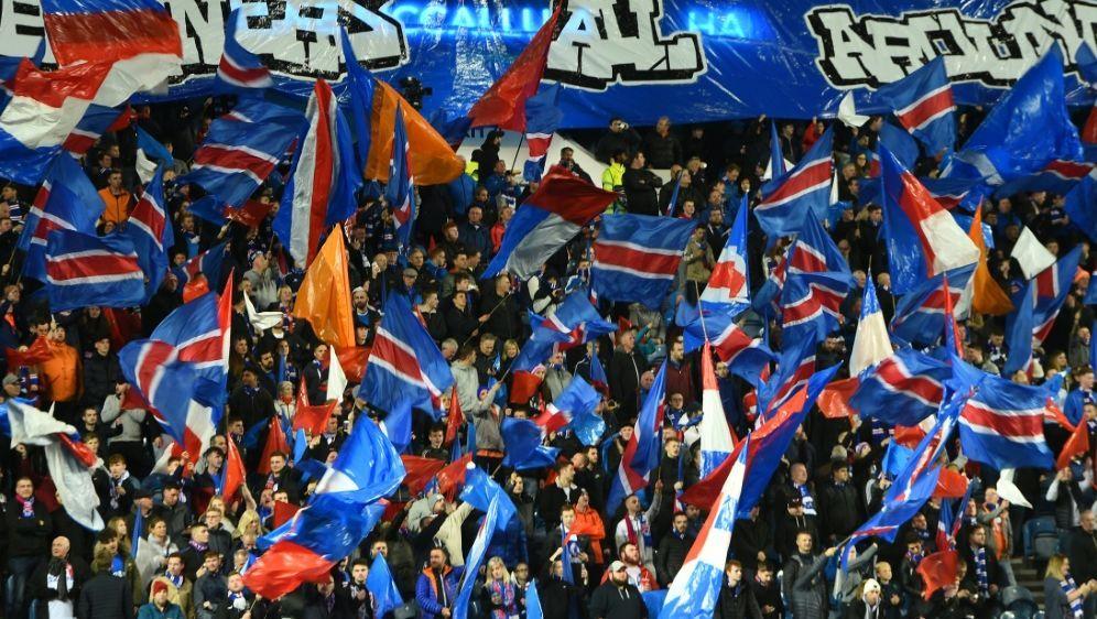Die Rangers müssen einen Teil ihrer Fans ausschließen - Bildquelle: AFPSIDANDY BUCHANAN