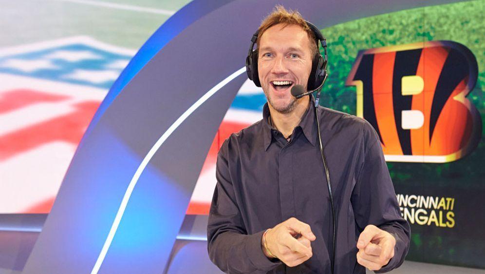 Volker Schenk wird die Super-Bowl-Party in Köln moderieren.