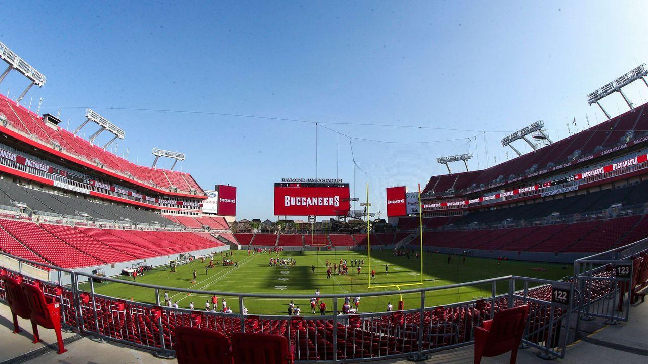 Vom Spielfeld bis in die Facilities: Die Corona-Maßnahmen der NFL - Bildquelle: imago images/ZUMA Wire
