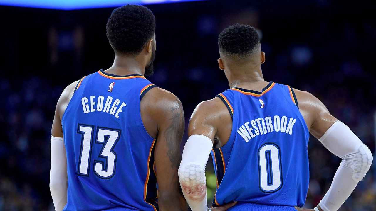 5. Platz im Westen: Oklahoma City Thunder - Bildquelle: 2018 Thearon W. Henderson