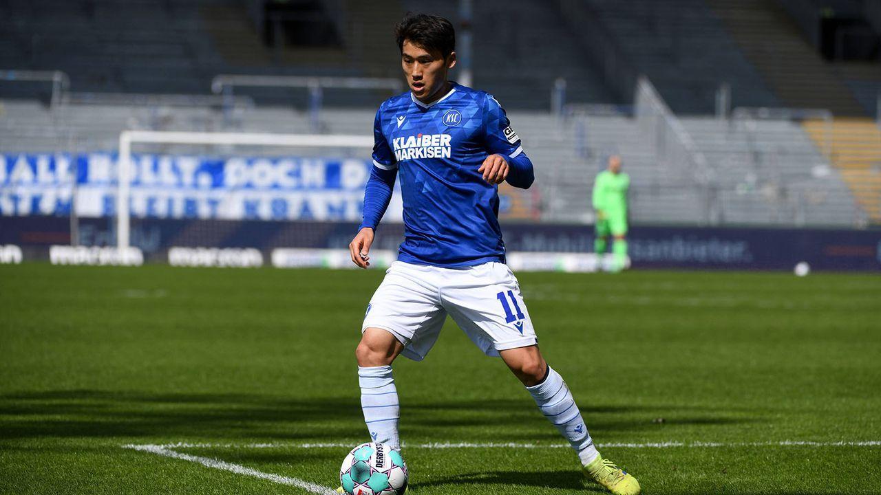Karlsruher SC (8. Platz - 42 Punkte) - Bildquelle: imago images/Eibner