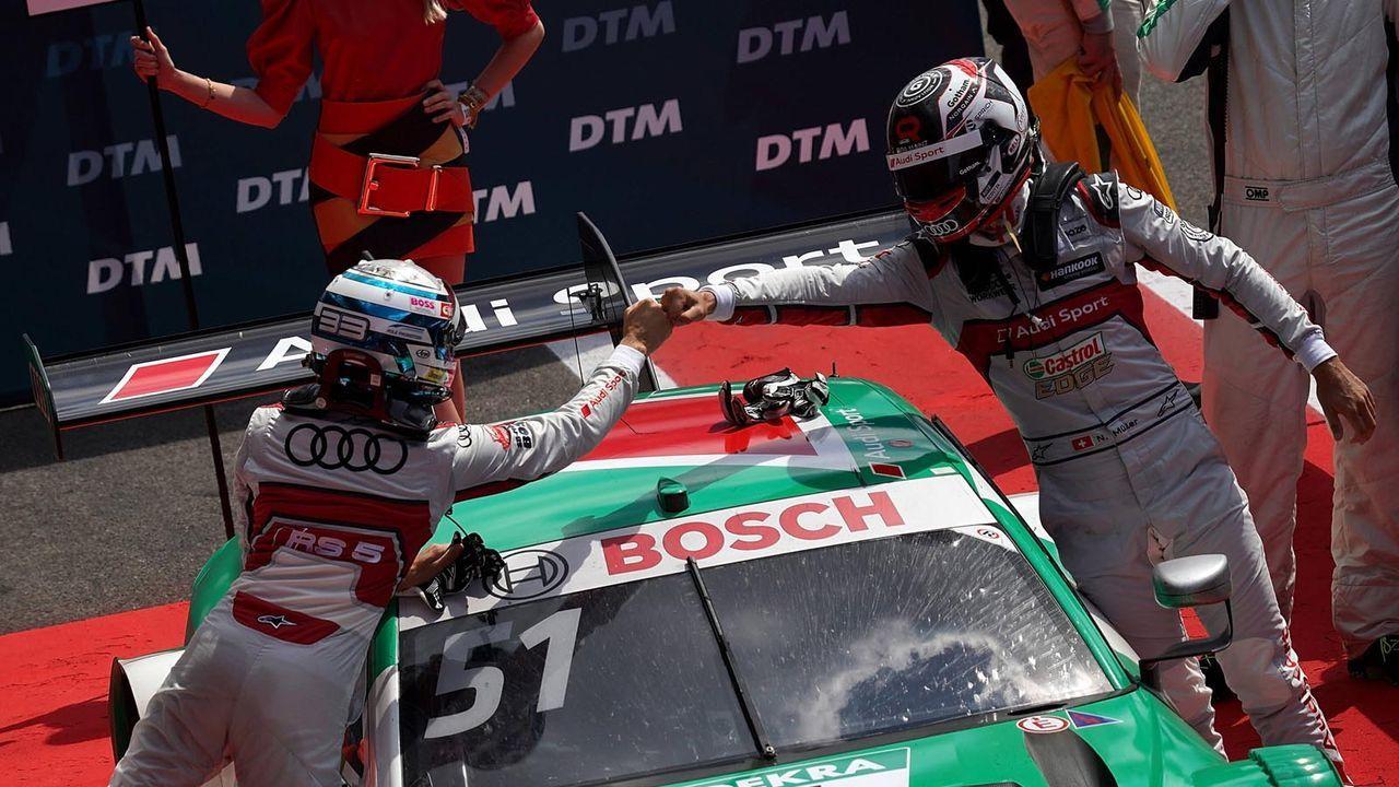 2. Audi dominiert auch im Abschiedsjahr - Bildquelle: imago images/Nordphoto