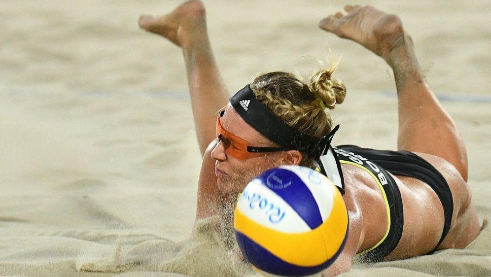Beachvolleyballerin Karla Borger - Bildquelle: AFPSIDLEON NEAL