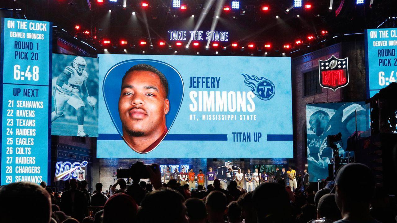 Draft Pick 19: Tennessee Titans - Bildquelle: Getty
