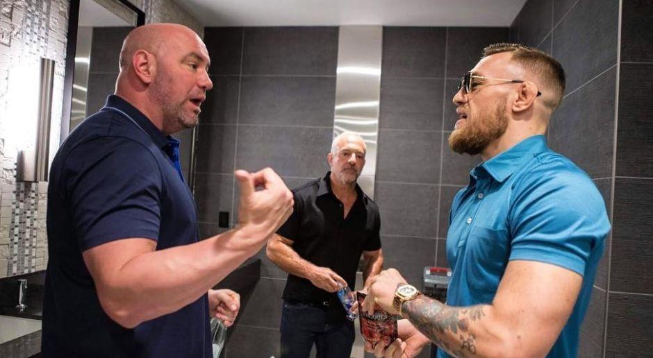 Kämpft McGregor nochmal in der UFC? - Bildquelle: instagram.com/thenotoriousmma