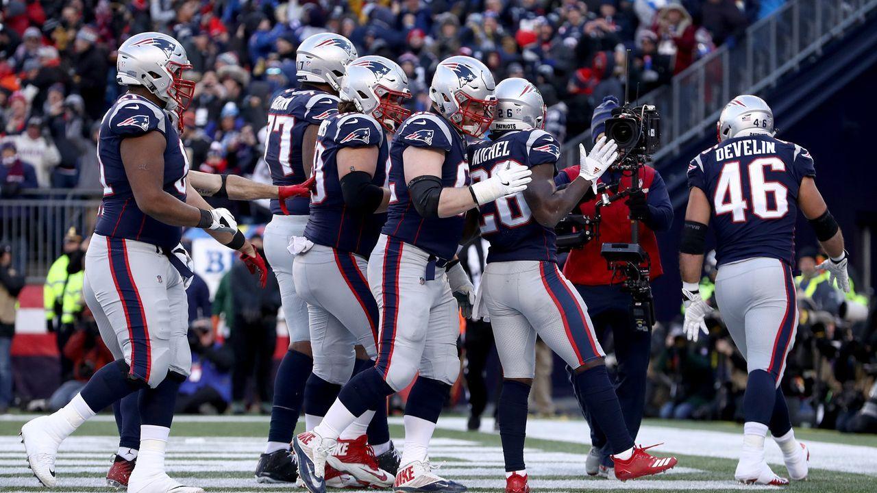 Platz 2 (geteilt): New England Patriots - 35 Siege - Bildquelle: Getty Images