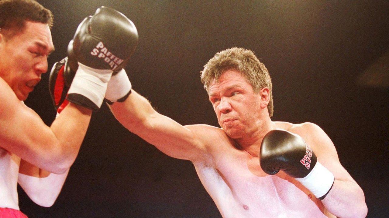 Rocchigiano vs. Willard Lewis, 10. Februar 2001, Berlin - Bildquelle: Getty Images