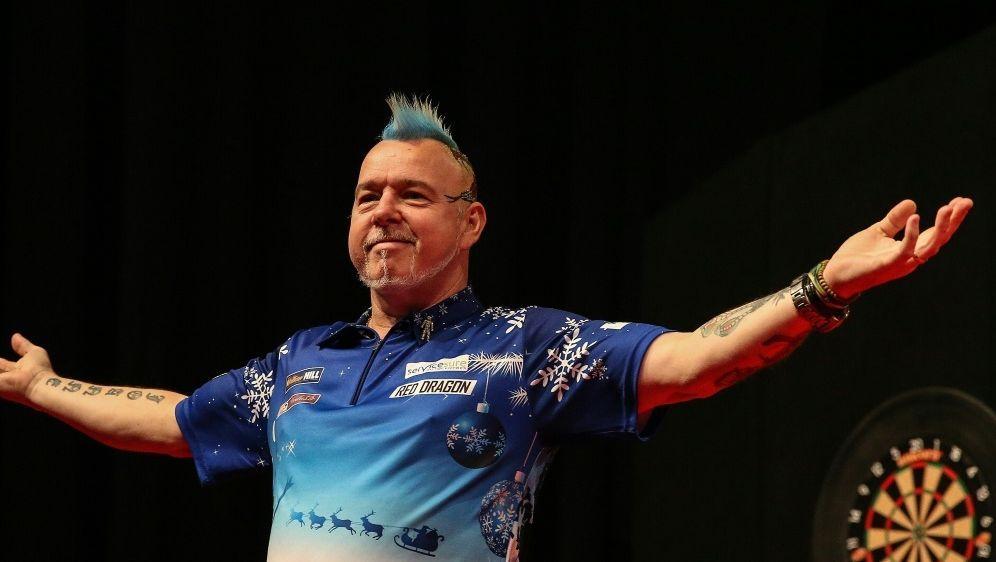 Peter Wright steht nach Sieg über Gerwyn Price im Finale - Bildquelle: PIXATHLONPIXATHLONSID
