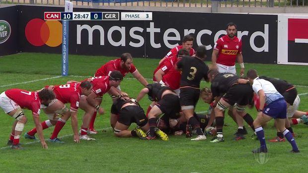 Rugby Deutschland Kanada