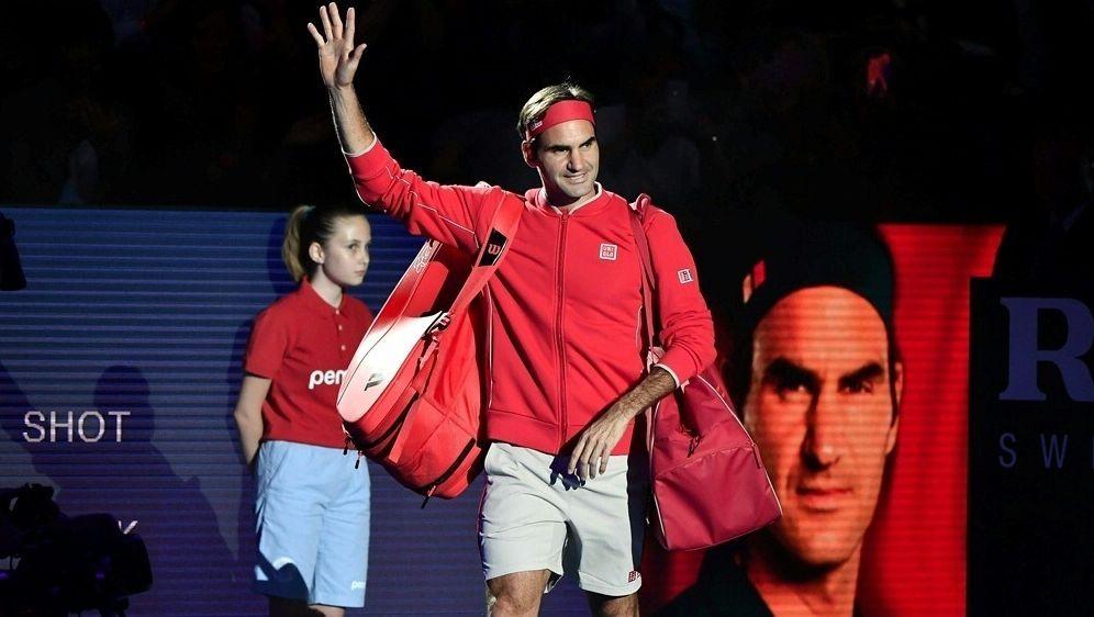 Souveräner Sieg beim Jubiläum: Roger Federer - Bildquelle: AFPSIDFABRICE COFFRINI