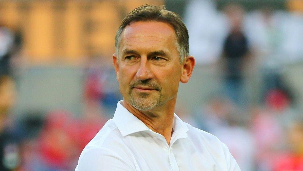 Beierlorzer will auch gegen Frankfurt Punkte sammeln - Bildquelle: PIXATHLONPIXATHLONSID