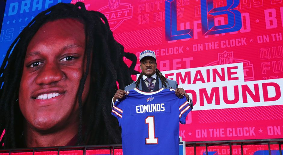 16. Tremaine Edmunds (Inside Linebacker, Buffalo Bills)  - Bildquelle: 2018 Getty Images