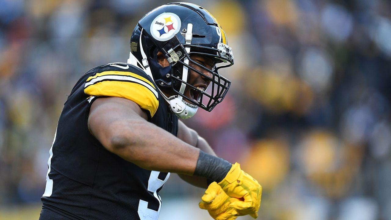 Platz 9: Stephon Tuitt (Pittsburgh Steelers)  - Bildquelle: 2018 Getty Images