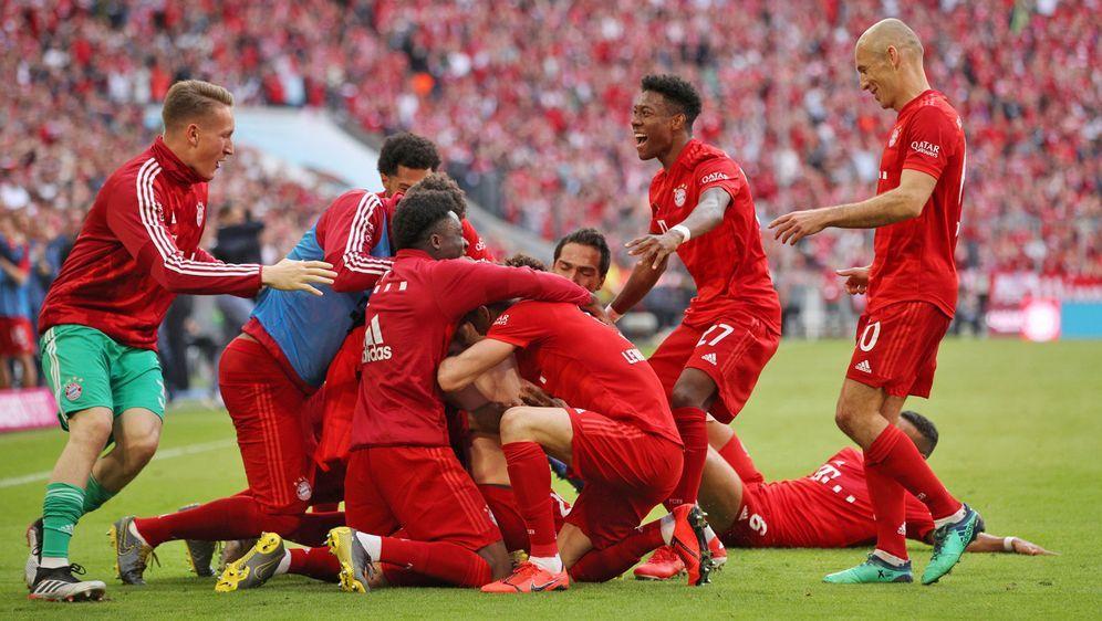 Bayern Munchen Holt Meisterschaft Ribery Und Robben Treffen
