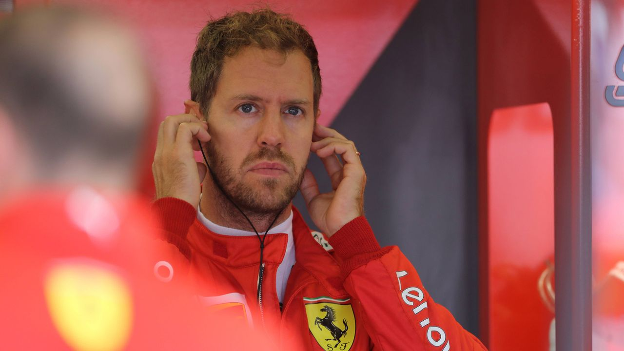 1. Sebastian Vettel - Bildquelle: imago images / LaPresse