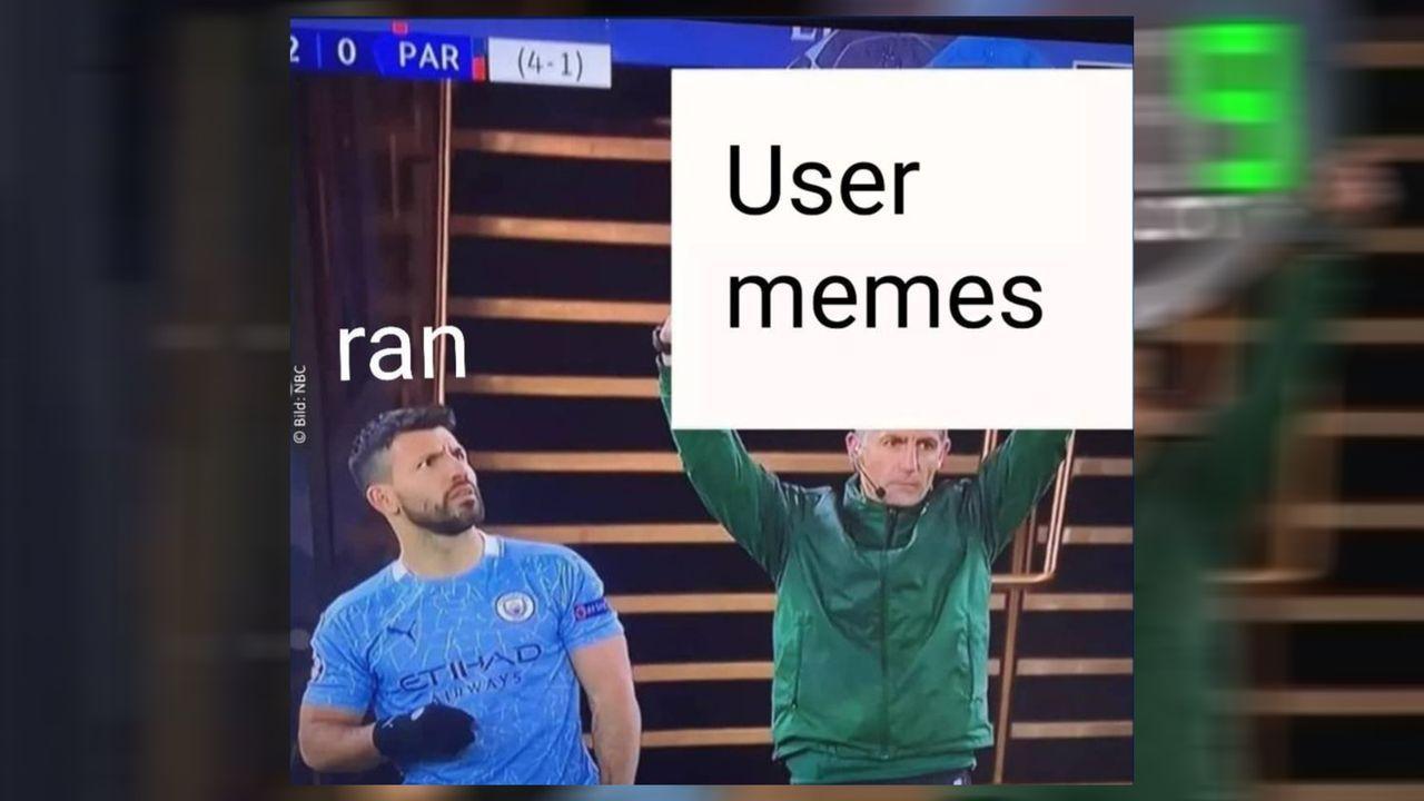 Die besten Agüero-Memes der ran-Community - Bildquelle: Instagram