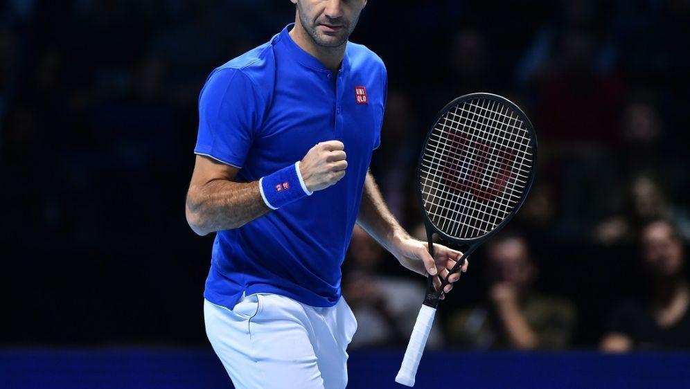 Federer bei ATP-Saisonfinale unter letzten Vier - Bildquelle: AFPSIDGLYN KIRK