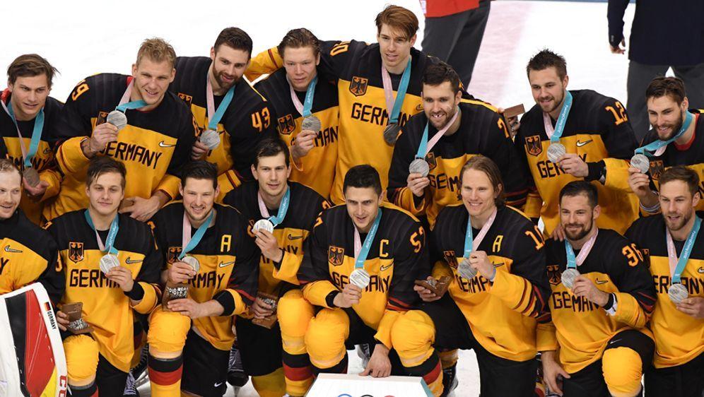 Deutschland gewinnt Silber im Eishockey - Bildquelle: getty images