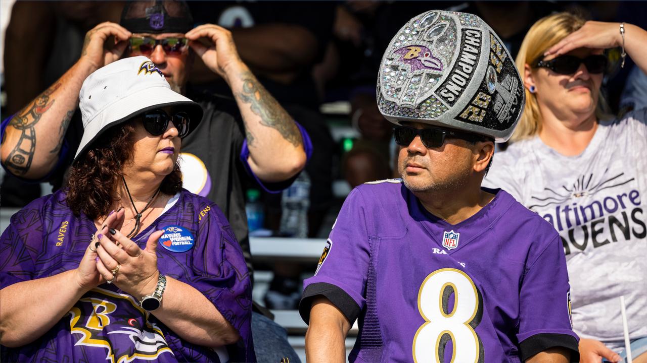 Platz 7: Baltimore Ravens - Bildquelle: Getty Images