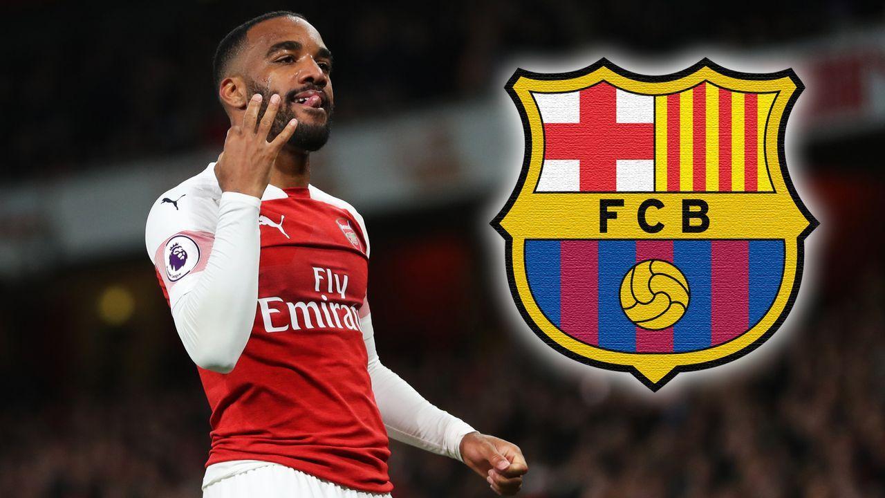 Alexandre Lacazette (FC Arsenal) - Bildquelle: 2019 Getty Images