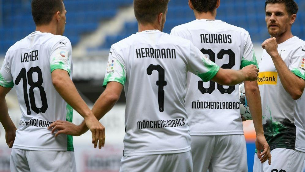 Mönchengladbach setzte sich gegen Paderborn durch - Bildquelle: AFPSIDINA FASSBENDER